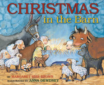 Christmas in the Barn - Margaret Wise Brown - cover