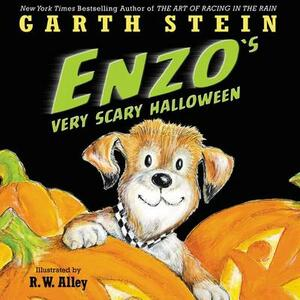 Enzo's Very Scary Halloween - Garth Stein - cover