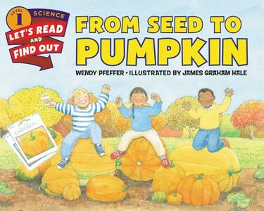 From Seed to Pumpkin - Wendy Pfeffer - cover