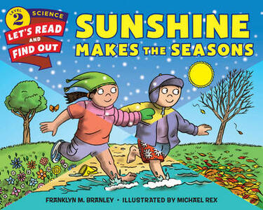 Sunshine Makes the Seasons - Franklyn M. Branley - cover