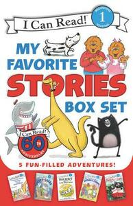 I Can Read My Favorite Stories Box Set: Happy Birthday, Danny and the Dinosaur!; Clark the Shark: Tooth Trouble; Harry and the Lady Next Door; The Berenstain Bears: Down on the Farm; Splat the Cat Makes Dad Glad - Various - cover