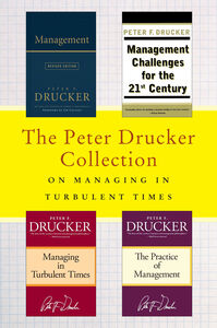 Ebook in inglese Peter Drucker Collection on Managing in Turbulent Times Drucker, Peter F.