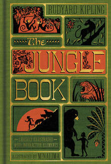 The Jungle Book (Illustrated with Interactive Elements) - Rudyard Kipling - cover