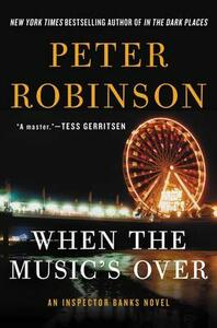 When the Music's Over - Peter Robinson - cover