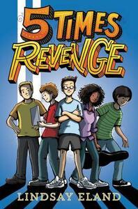 Five Times Revenge - Lindsay Eland - cover