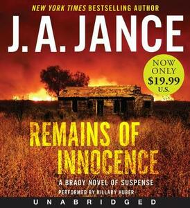 Remains of Innocence Unabridged Low Price CD: A Brady Novel of Suspense - J. A. Jance - cover