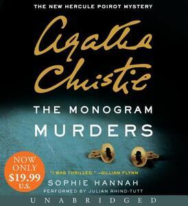 The Monogram Murders - Sophie Hannah,Agatha Christie - cover