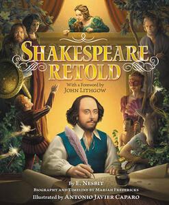 Shakespeare Retold - E. Nesbit - cover