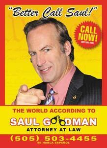 Better Call Saul: The World According to Saul Goodman - David Stubbs - cover