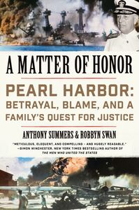 Foto Cover di A Matter of Honor, Ebook inglese di Anthony Summers,Robbyn Swan, edito da HarperCollins