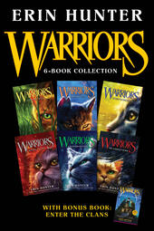 Warriors 6-Book Collection with Bonus Book