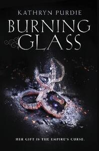Burning Glass - Kathryn Purdie - cover