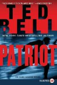 Patriot LP: An Alex Hawke Novel - Ted Bell - cover