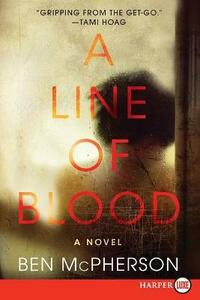 A Line of Blood - Ben McPherson - cover