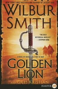 The Golden Lion Large Print - Wilbur Smith - cover