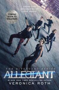 Allegiant Movie Tie-In Edition - Veronica Roth - cover