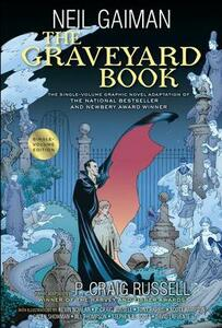 The Graveyard Book Graphic Novel Single Volume - Neil Gaiman - cover
