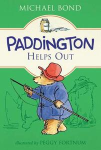 Paddington Helps Out - Michael Bond - cover