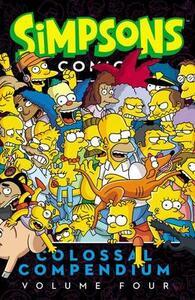 Simpsons Comics Colossal Compendium, Volume 4 - Matt Groening - cover