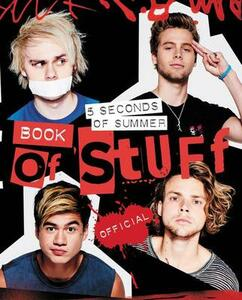 5 Seconds of Summer Book of Stuff - 5 Seconds of Summer - cover