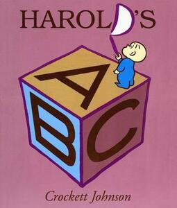 Harold's ABC Board Book - Crockett Johnson - cover