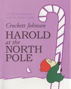 Harold at the North Pole - Crockett Johnson - cover
