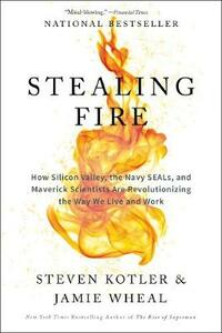 Stealing Fire: How Silicon Valley, the Navy SEALs, and Maverick Scientists Are Revolutionizing the Way We Live and Work - Steven Kotler,Jamie Wheal - cover