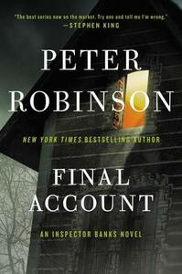 Final Account: An Inspector Banks Novel - Peter Robinson - cover