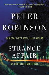 Strange Affair - Peter Robinson - cover