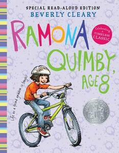 Ramona Quimby, Age 8 - Beverly Cleary - cover