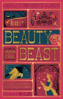 The Beauty and the Beast (Illustrated with Interactive Elements) - Gabrielle-Suzanna Barbot de Villenueve - cover