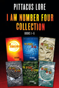 Ebook in inglese I Am Number Four Collection: Books 1-6 Lore, Pittacus