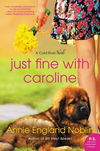 Ebook in inglese Just Fine with Caroline Noblin, Annie England