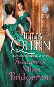 Because of Miss Bridgerton - Julia Quinn - cover