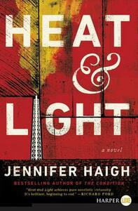 Heat and Light [Large Print] - Jennifer Haigh - cover