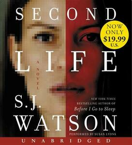 Second Life Low Price CD - S J Watson - cover