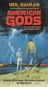 American Gods - Neil Gaiman - cover