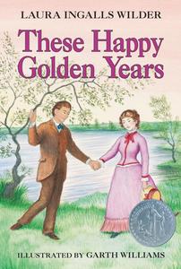 Ebook in inglese These Happy Golden Years Wilder, Laura Ingalls