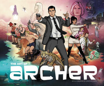 The Art of Archer - Neal Holman - cover