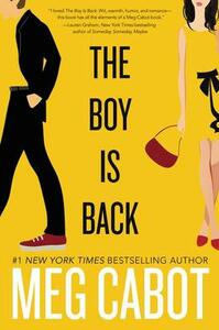 The Boy Is Back - Meg Cabot - cover