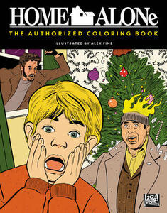 Home Alone: The Authorized Coloring Book - Twentieth Century Fox Home Entertainment - cover