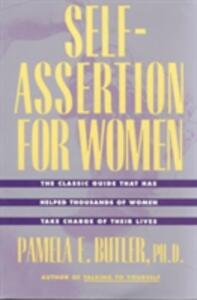 Self Assertion For Women - Pamela E. Butler - cover