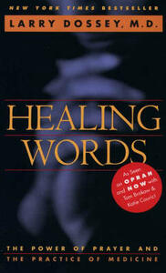 Healing Words - Larry Dossey - cover