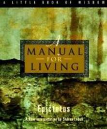 A Manual for Living - Epictetus - cover
