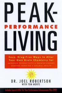 Peak-Performance Living - Joel Robertson - cover
