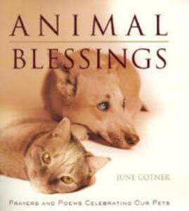 Animal Blessings - June Cotner - cover
