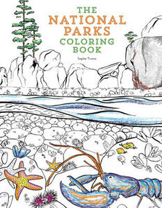The National Parks Coloring Book - Sophie Tivona - cover