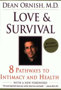 Ebook in inglese Love and Survival Ornish, Dean