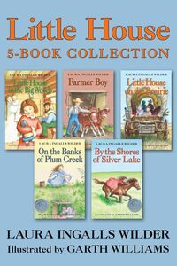 Ebook in inglese Little House 5-Book Collection Wilder, Laura Ingalls
