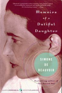 Foto Cover di Memoirs of a Dutiful Daughter, Ebook inglese di Simone De Beauvoir, edito da HarperCollins